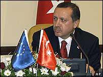 El primer ministro de Turquía, Recep Tayyp Erdogan.