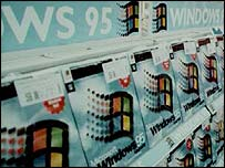 Windows 95 goes on sale, PA