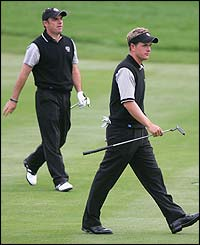 Paul McGinley and Luke Donald