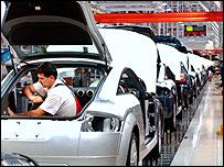 Slovakian Audi factory