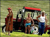 Slovenian farmers
