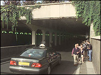 Pont d'Alma tunnel