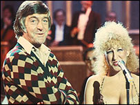 Bette Midler and Michael Parkinson
