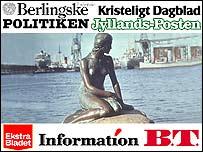 Danish press profile graphic