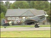 Spitfire at Battle of Britain Airshow