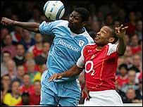 Jaidi challenges Thierry Henry