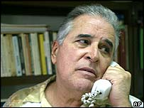 File photo of Cuban activist Elizardo Sanchez