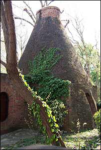 An original kiln, which has been extended and converted into a three-bedroom house, dates from at least 1824