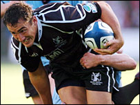 Sonny Parker was in dominant form in the Ospreys midfield