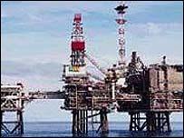 BP Bruce gas rig