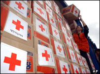 Boxes of aid