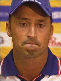 Nasser Hussain at the World Cup