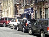 SUVs in New York