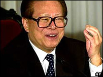 Jiang Zemin (archive picture)