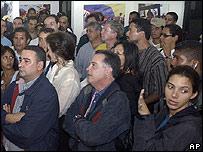 Miembros de la oposición venezolana.