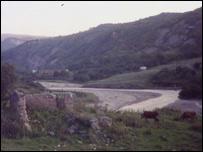 Село Саян Ножай-Юртовского района Чечни