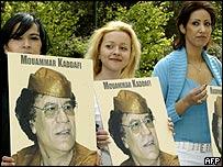 Gaddafi supporters