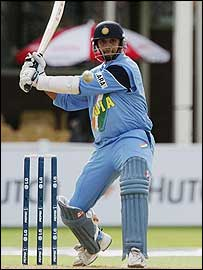 Rahul Dravid was the only Indian batsman to distinguish himself with 67