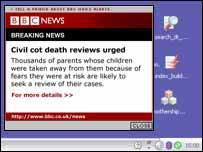 BBC Desktop Alert