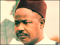 Independence leader Ahidjo