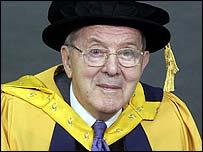 Lord  Merlyn-Rees (pic: University of Glamorgan)