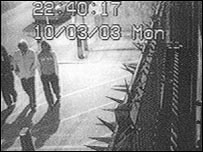 CCTV footage of the killers