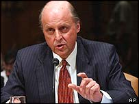 John Negroponte, nominated as US ambassador to Iraq