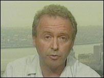 Phillip Bigley, hermano del británico secuestrado.