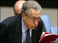 Lakhdar Brahimi at the UN Security Council