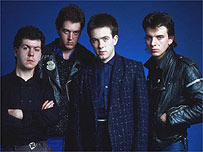 The Cure in the early 1980s