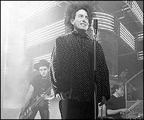 The Cure on Top of the Pops