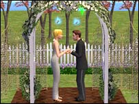 Screenshot of The Sims 2
