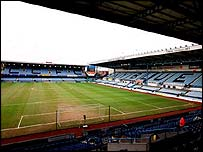 Coventry City's Highfield Road ground
