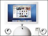 Apple iMac, iPod and iTunes