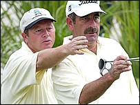 Ian Woosnam and Sam Torrance