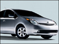Toyota Prius. Pic from Toyota website