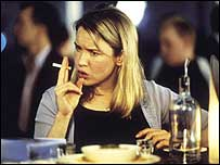 Bridget Jones as played by Renee Zellweger