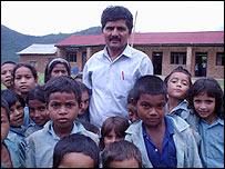 Schoolteacher Badri Prasad Dhungana