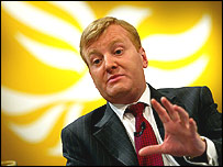 Charles Kennedy in Bournemouth