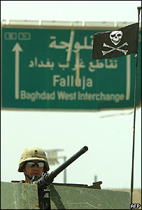 US marine near Falluja