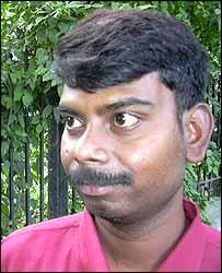 Rajesh Kumar, cigarette shop owner in Delhi
