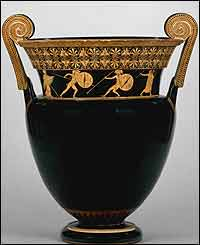 Greek vase, The British Museum