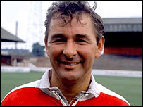 Brian Clough, who has died at the age of 69