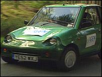 Hydrogen car, BBC