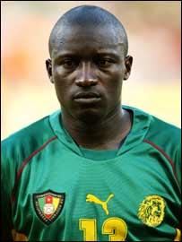 Cameroon's Lucien Mettomo