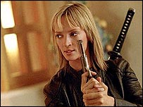 Uma Thurman in Kill Bill 2