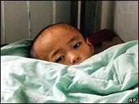 Chongjin city paediatric hospital, North Korea