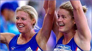 Steph Cook and Kate Allenby won gold and bronze in Sydney