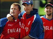 Veteran Darren Gough claimed figures of 3-48 in seven overs