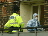 Police raids in Manchester under the Terrorism Act 2000